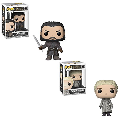 Funko POP! Game of Thrones: Jon Snow and Daenerys Targaryen