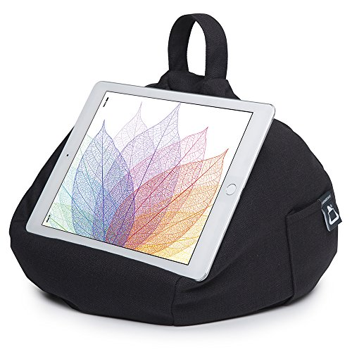 Angle Techno iPad Stand Surface for Tablet Bag Holder Hare All Black Any Devices iBeani Cushion Any on Bean amp; TdqZw7