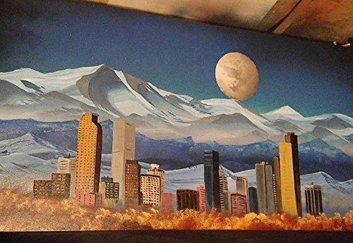 Denver Night Skyline - Shopping Denver Colorado