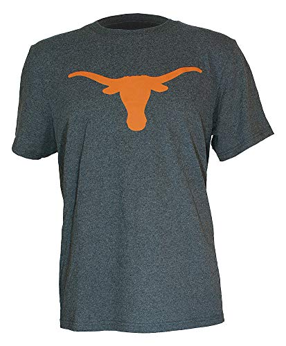 Elite Fan Shop Texas Longhorns Tshirt Icon Charcoal - L ()