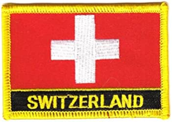 Wappen Aufn/äher Patch Dominikanische Republik Fahne FLAGGENMAE/®