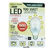 feit led bulb 100w - Feit Electric OMNI100W 15.5W Omni Directional Dimmable LED Bulb, 1600 Lumens, Soft White