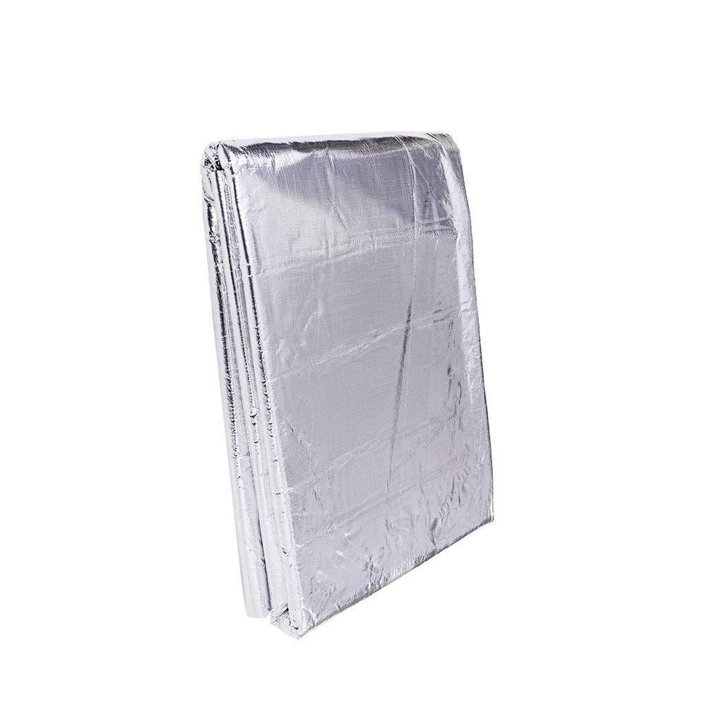 5mm Katurn 150 X 100 cm Voitures Tapis d/'Isolation Acoustique en Butyle Tapis de Voiture de Contr/ôle du Bruit Acoustique Isolation Sonore Proofing Deadener Bouclier Thermique
