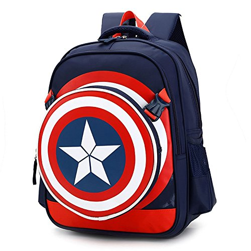 Boys Backpacks Captain America School Backpack