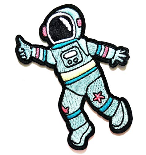 5.5'' X 4.3'' Big Size Astronaut Space A Journey to
