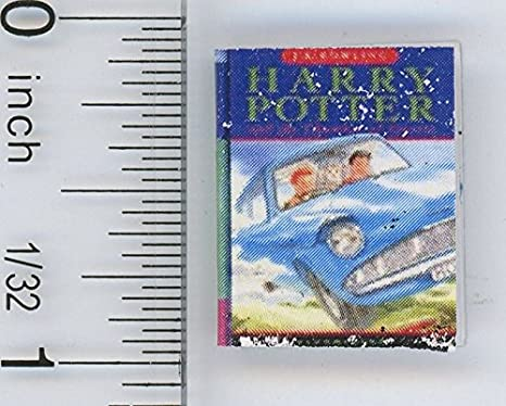 1:12 SCALE MINIATURE BOOK HARRY POTTER SORCERERS STONE DOLLHOUSE SCALE