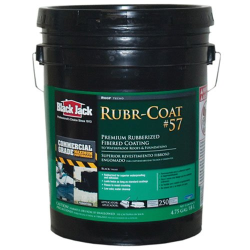 GARDNER-GIBSON 9/30/6080 4.75 Gallon Rubberized Sbs Roof Coating (Black Jack Roof Sealer compare prices)