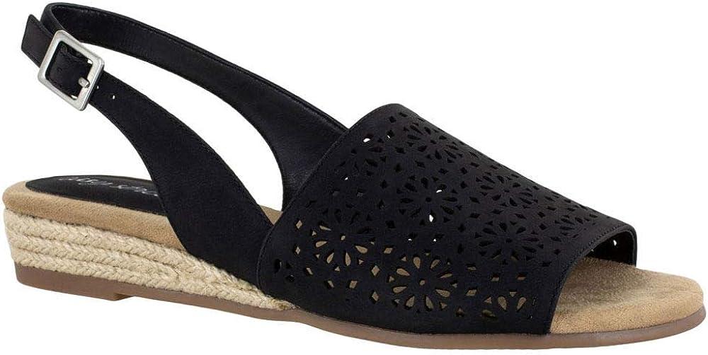 Easy Street Womens Sandal Espadrille Wedge Sandal