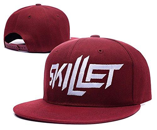 DEBANG Skillet Band Logo Adjustable Snapback Embroidery Hats Caps - - Band Hat Skillet