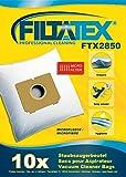 10 x FILTATEX bags Electrolux powerplus 2000w / electrolux power plus 2000 - electrolux powerplus pet 2000w