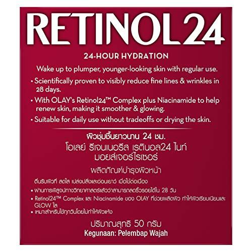Olay Night Cream Regenerist Retinol 24 Moisturiser 50g deals price offers