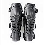 UPBIKE Adults Motorcycle Knee Pads Armor Protective Gear Guard Pads Motocross Racing kneepads use on legs (BLACK)