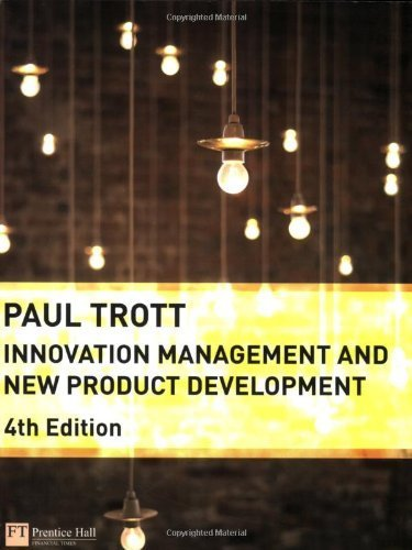 Innovation Management and New Product Development by Trott, Dr Paul (2008) Paperback