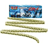 D.I.D 530ZVMXG-130 Gold 130-Link High Performance X-Ring Chain with Connecting Link