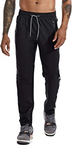 Giveaway: AIMPACT Mens Jogger Pants Gym Tapered Sweatpants Slim Fit...
