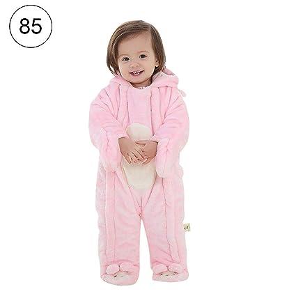 936119668 Amazon.com  Infant Winter Snowsuit Baby Bear Romper Outfit Fleece ...