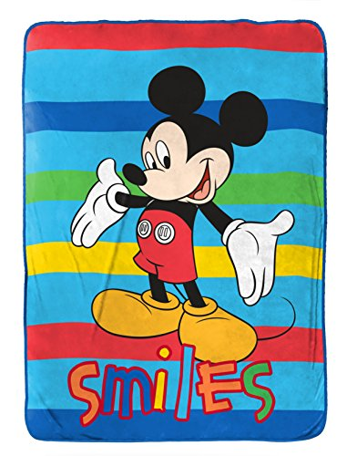 Disney Junior Mickey Mouse Clubhouse Play Twin Fleece Blanket, 62