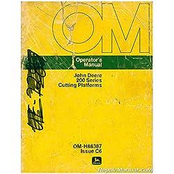 OM-H111336 John Deere 200 Series Cutting Platforms