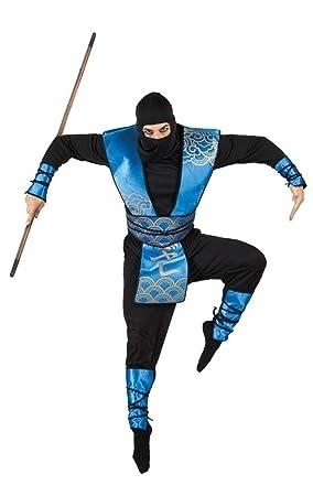 Boland 83558 - traje adulto Ninja Real, tamaño 50/52 ...