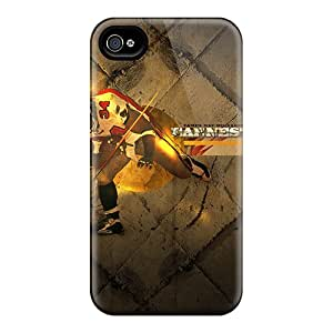 Scratch Protection Cell-phone Hard Covers For Iphone 4/4s (oEe15779VzeU) Allow Personal Design Realistic Tampa Bay Buccaneers Image