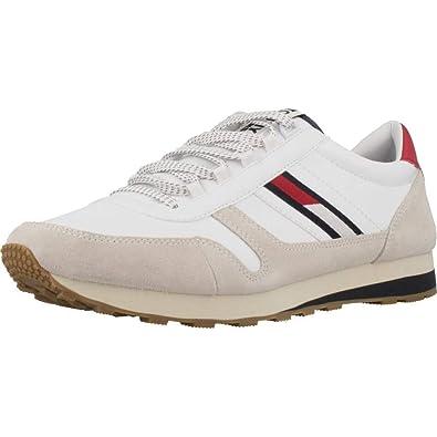 981e4f868164 Tommy Hilfiger EM0EM00165 Retro Runner Sneakers Herren  Amazon.de ...