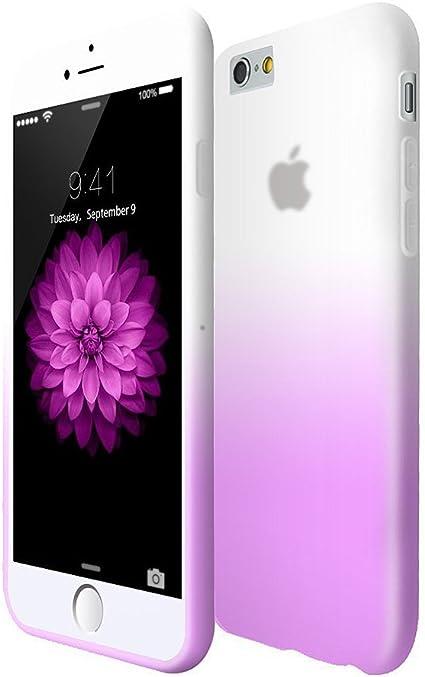 Iphone 6 6S Custodia,iphone 6 6S Cover,COOLKE [Porpora] Moda Gel TPU Copertina Custodia Cover Astuccio Case per Apple iPhone 6 (4.7 inch)