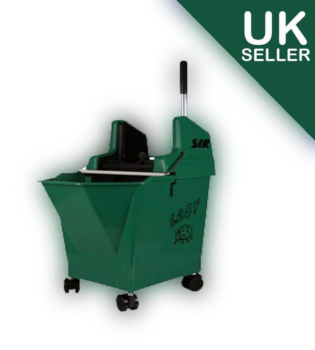 Professional SYR Kentucky Lady Mop Bucket (Green) on Castors