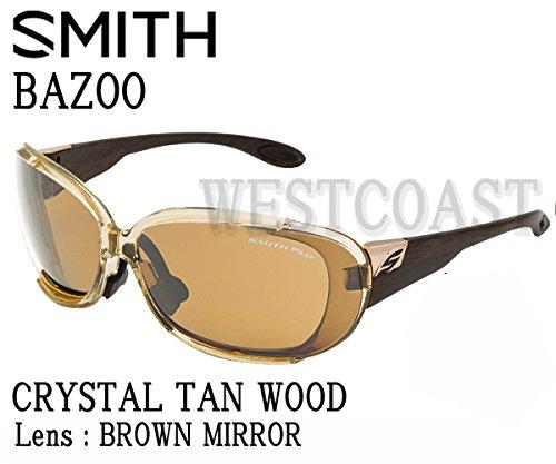 SMITH(スミス) BAZOO CRYSTAL TAN WOOD【レンズ】BROWN MIRROR 240000702サングラス   B00Z9HOQ72