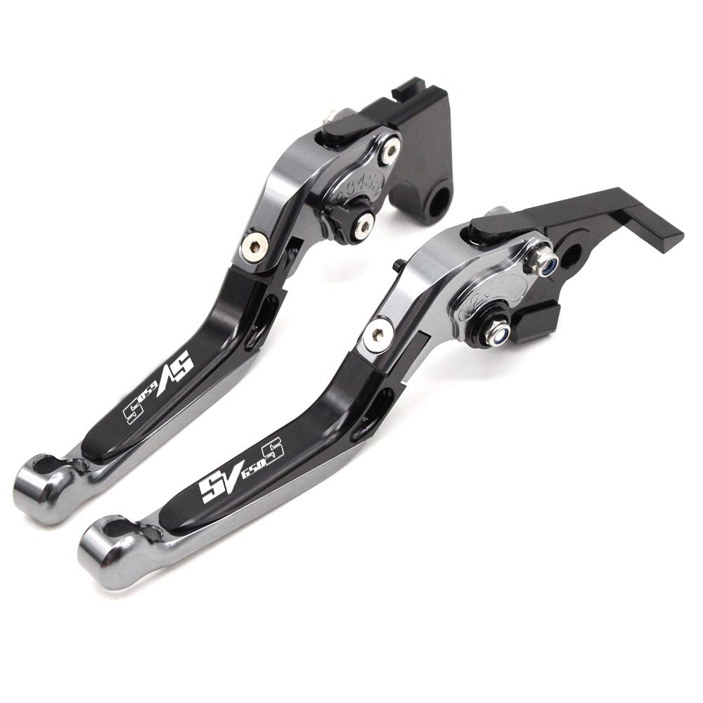 CNC Extendable Folding Motorcycle Adjustment Brake Clutch Levers For Suzuki SV650S 1999-2009