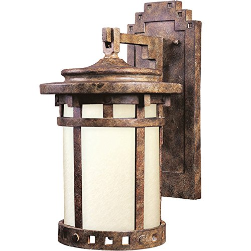 Maxim Santa Barbara Dark Sky 1-LT Outdoor Wall Lantern,