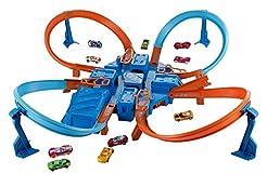 Hot Wheels Criss Cross Crash Track Set [...