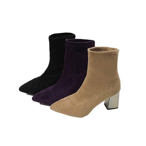 495aa832190 TONMOON Women Pointed High Heels