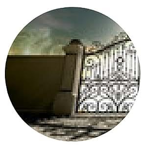 alfombrilla de ratón Cielos cerrado adornado Puertas - ronda - 20cm