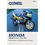 Clymer Honda In-Line Fours CBR600F2 and CBR600F3 Manual M441-2