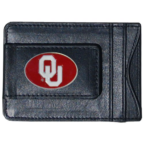 NCAA Oklahoma Sooners Cash and Card Holder (Logo Oklahoma Credit Card)