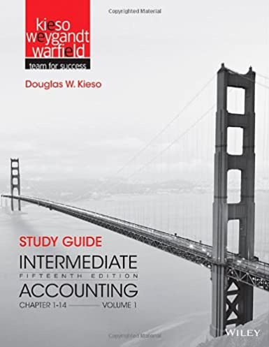 amazon com study guide intermediate accounting vol 1 chapters 1 rh amazon com Intermediate Accounting 7th Edition Answers Intermediate Accounting 7th Edition Answers