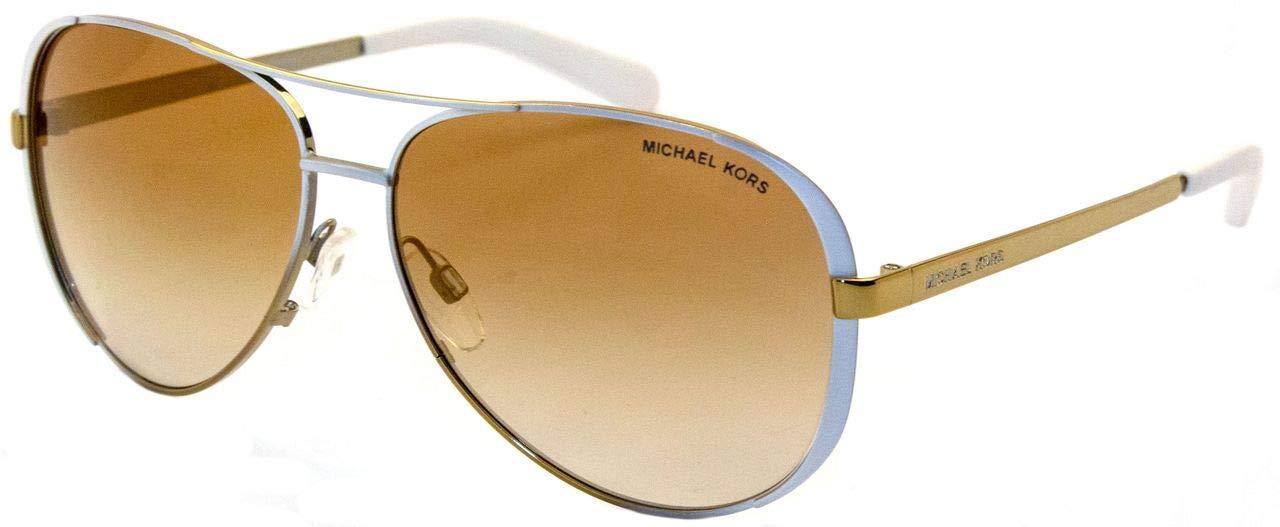 b73b0726cc Michael Kors 5004 10166E 59 MK Chelsea White   Gold Fade Sunglasses  Michael  Kors  Amazon.ca  Luggage   Bags