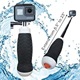Waterproof Extendable Hand Grip + Floating GoPro Pole 6.5-23
