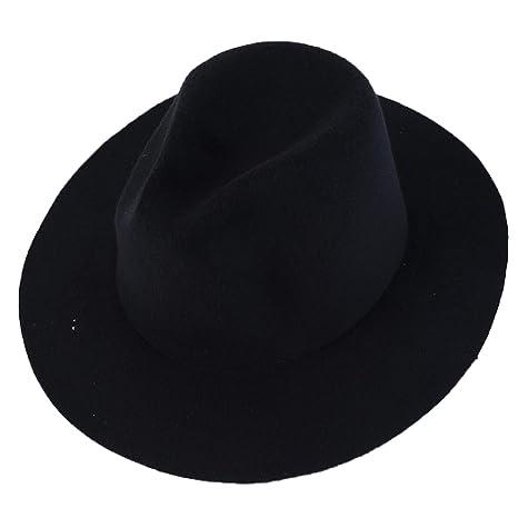 Blaux Feltri di British donne di stile berretti di lana Cap con Solid  colore grandi cappelli 84159ddece6a