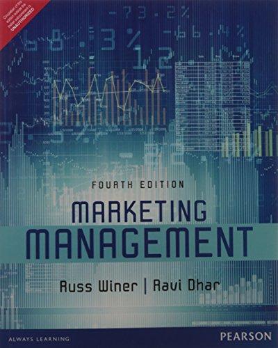 Marketing Management, 4th ed