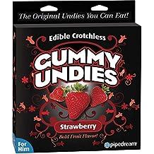 Best Edible Male Gummy Undies (Peach, Strawberry, Green Apple, Watermelon)