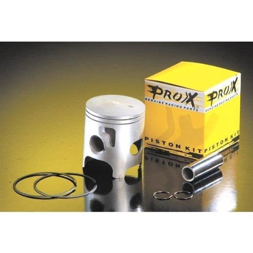 Pro-X 01.2414.A Piston Kit (A) - Standard Bore 76.95mm, 13.5:1 Compression, Bore: 76.95mm, Compression: 13.5:1 Compression, Sizing: Standard Bore by Prox Racing Parts