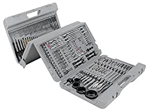 Performance Tool W1368 204-Piece Drill Bit Set