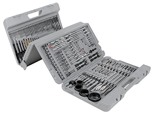 Wilmar WLMW1368 204 Pcs. Drill Bit Set