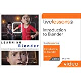 Learning Blender (Book) and Introduction to Blender LiveLessons (Video Training) Bundle (Game Design)