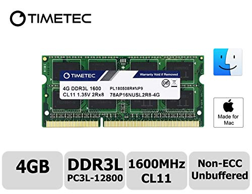 Used, Timetec Hynix IC Apple 4GB DDR3L 1600MHz PC3L-12800 for sale  Delivered anywhere in Canada