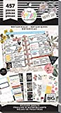me & my BIG ideas Sticker Value Pack - The Happy Planner Scrapbooking Supplies - Vintage Botanicals Theme - Multi-Color - Great for Projects, Scrapbooks & Albums - 30 Sheets, 457 Stickers Total