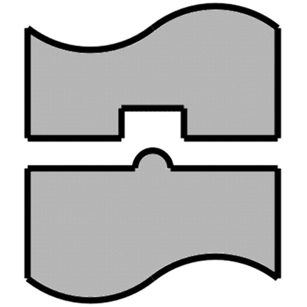 Mittler Bros. Machine & Tool - 1/4'' Bead Roll - Steel