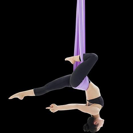 Hamaca de yoga aérea casa Interior Alta altitud arnés Cama ...
