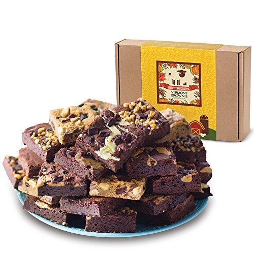 Thanksgiving Chocolate Gourmet Brownie Sampler (6)